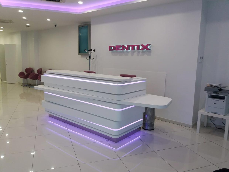 Obra y reforma de clínica dental Dentix en Bilbao