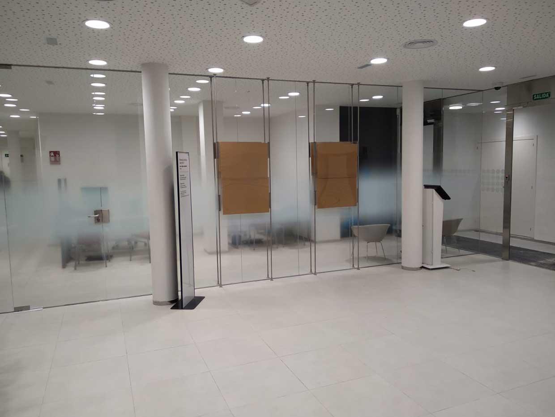 Reforma de sucursal de Banco Sabadell en Colmenar Viejo, Madrid