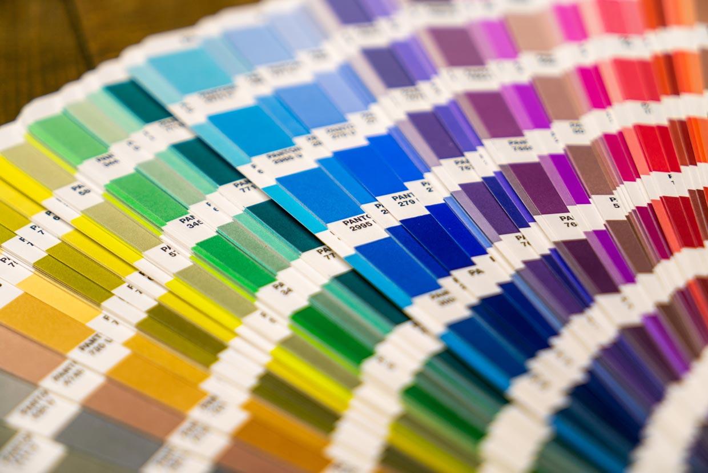 Paleta de colores para locales comerciales